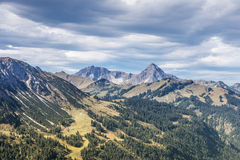 Alps in Tannheimer tal Stock Images