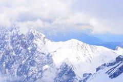 Alps2 tempestoso Fotografia Stock Libera da Diritti
