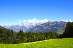 Alps in Tirol, Austria Royalty Free Stock Photo