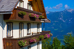 Alps traditional house Stock Photos
