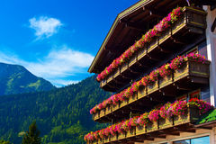 Alps traditional house Stock Photography