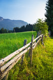Alps traditional landscape Royalty Free Stock Images