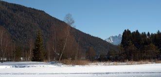 alps tyrolien Arkivbild