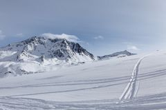 The Alps, Val Thorens Stock Photography