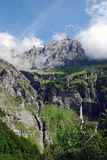 Alps valley Royalty Free Stock Images