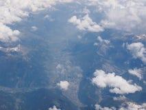 Alps valley Stock Photos