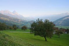 Alps view Stock Photography