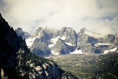 Alps view Royalty Free Stock Photography