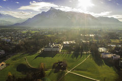 Alps. View of Alps in Salzburgh, Austria Royalty Free Stock Photo