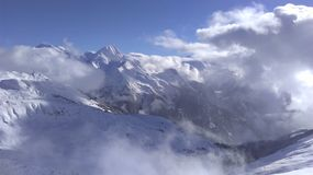 Alps. View from the top Royalty Free Stock Photography
