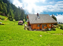 Alps village Royalty Free Stock Photography