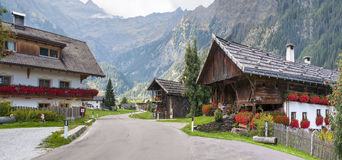 Alps village in Italy Royalty Free Stock Images