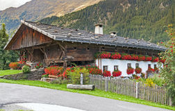 Alps village in Italy Royalty Free Stock Photos