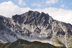 Alps in the Vinschgau. Mountains in the region of mount Ortler in Sulden (South Tyrol, Italy Stock Photography