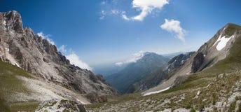 alps włoscy fotografia stock