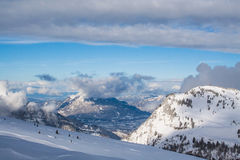 Alps w Francja Fotografia Royalty Free