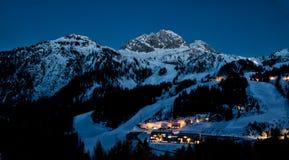 Alps w zimie Zdjęcie Royalty Free