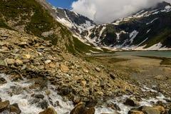 Alps. Wild, rocky valley-Hohe Tauern National Park, Austria Royalty Free Stock Image