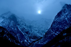 Alps in the winter Royalty Free Stock Photography
