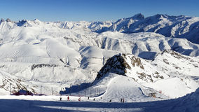 Alps in winter Royalty Free Stock Image