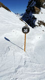 Alps in winter Stock Image