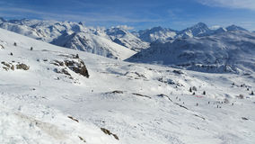 Alps in winter Stock Images