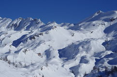 Alps in winter Stock Photography