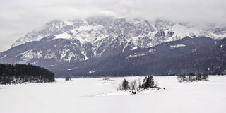 Alps in Winter Stock Photos