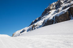 Alps in winter Royalty Free Stock Photo