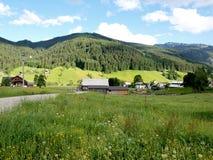 alps wioska Zdjęcie Royalty Free