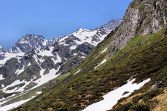 alps wiosna Fotografia Royalty Free