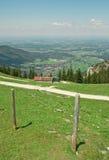 alpsbavarianliggande Royaltyfri Fotografi