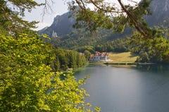 Alpsee del lago Fotografia Stock