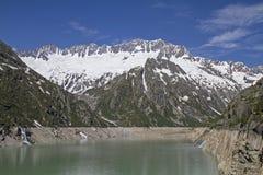 Alpsee di Goeschen del lago Immagine Stock