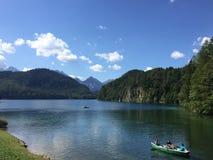 Alpsee em Baviera Imagem de Stock Royalty Free