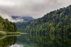 Alpsee vicino a Hohenschwangau Fotografie Stock Libere da Diritti