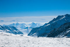 Alpsliggande Arkivbild