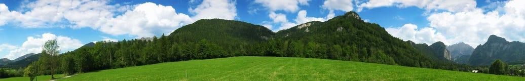 alpspanorama Fotografering för Bildbyråer