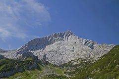 Alpspitze Fotografie Stock Libere da Diritti