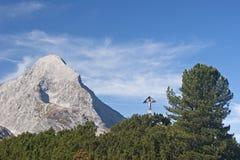 Alpspitze Fotografie Stock