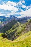 Alpstein massif Stock Photos