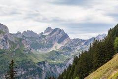 Alpstein massif Stock Photography