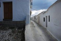 Alpujarras street in Granada, Andalusia, Spain Stock Photography