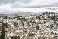 Alpujarras villaggio bianco a Granada, Andalusia spain Immagini Stock