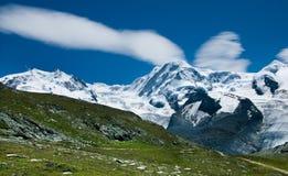 alpy liskamm monte Rosa Szwajcarii Obrazy Royalty Free