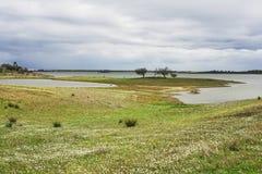 Alqueva风景 库存图片