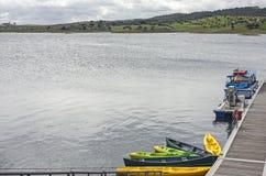 Alqueva湖 免版税库存照片