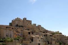 Alquezar, Huesca, Spagna Fotografia Stock Libera da Diritti