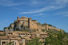 Alquezar, Huesca, Spain Royalty Free Stock Photo
