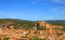 Alquezar, Huesca, Spain royalty free stock photography